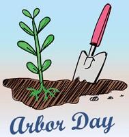 Arbor Day profie decorations