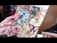 YTPC: Let's Decoupage Book Pages with Napkins