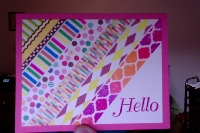 IWTS: A Simple Washi Hello