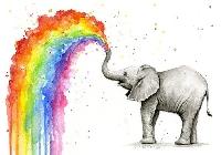 AAAMA: Put a Rainbow on it Mail Art Swap