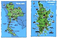 2 blank Map Postcards in envelope-October