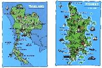 2 blank Map Postcards in envelope-December