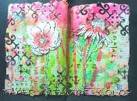 Mini Handmade Art Journal R36