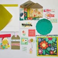 DIY Letter Writing Kit: Int.
