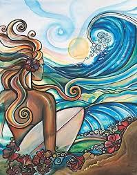 SURF'S UP! ATC, Mail Art & Flat Surprise