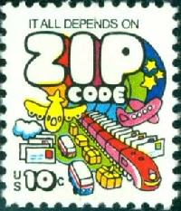 Mr. Zip: Birthday time, he's turning 55!