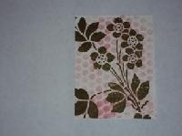 Using a stencil
