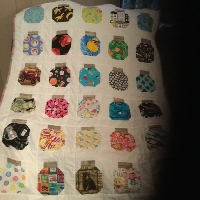 I spy jar quilting blocks #2