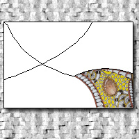 Zentangle & Pass PC Round 8