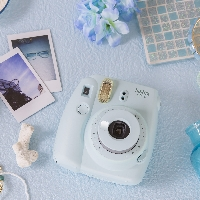 Instax photo - the great outdoors! <3