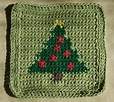 Christmas in July - Dishcloth!!
