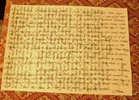 A Crossed Letter of Introduction