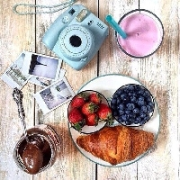 Instax photo - Food <3
