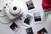 Polaroid-Style Photo Swap-Puppies!