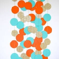 HMPC: Color trio turquoise, orange and brown