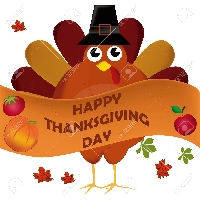 Happy Thanksgiving Day Postcard Swap
