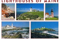 Two Lighthouse Postcards