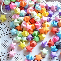 Origami Lucky Star Part 1 - USA