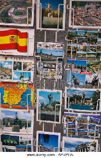 Touristy Postcard Swap USA #13