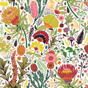 Botanical Postcard Swap USA #16