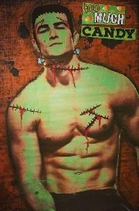 Monster Mania Mail Art Series: #3 Frankenstein