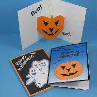 Halloween Card —Store bought USA only