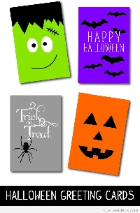 MEGA Halloween Greeting Card Swap - USA