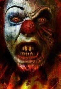 Monster Mania Mail Art Series: #6 Creepy Clown