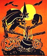 SUSA - Halloween ATC w/ a Black Cat