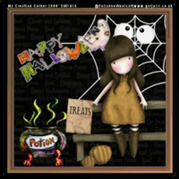 GG: Gorjuss Halloween Mini Pocket Letter