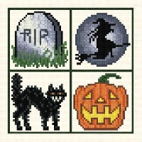 Small Cross Stitch: Halloween