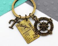 Keychain + postcard Swap