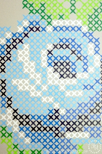 ATC-- Cross Stitch Theme!