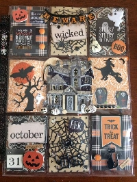 FTLOC#1 Mini Pocket Letter Halloween theme