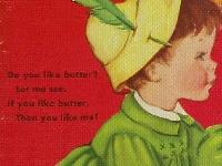 Children's song handmade Postcard Newbie friendly