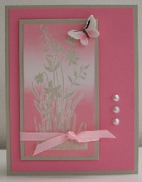 SS - Pink Ribbon Card
