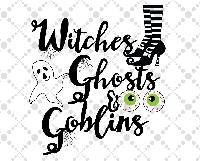 WITCHES! GHOSTS & GOBLINS! ATC Duo