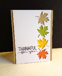 Thanksgiving Card Swap #5