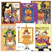 Halloween Greeting Card - USA