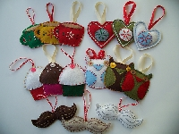 Handmade Ornament Swap