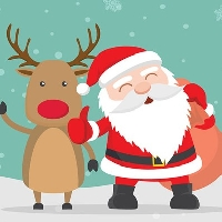 Christmas Postcard Swap~USA