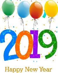 Happy New Year 2019! Greeting Card Swap~Intl