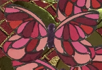 BL ~ Clear stamps and die cuts of butterflies