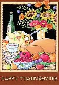 Easy Peasy Thanksgiving Card Swap #2 - 2018