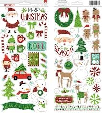WIYM:Winter and /or Christmas Sticker Package