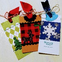 Handmade Christmas Tag Swap - Newbie Friendly
