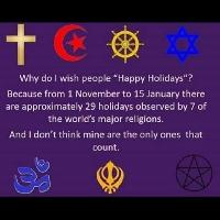 Happy Holidays card swap