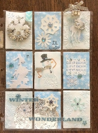 Pocket Letter Pen Pals #1-WINTER THEME