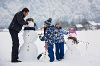 Building a Snowman Art Deco ♡