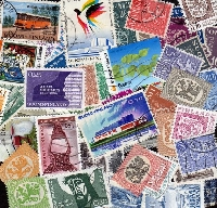 50 used stamps